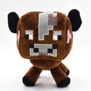 Thú Nhồi Bông Minecraft Bò Nâu