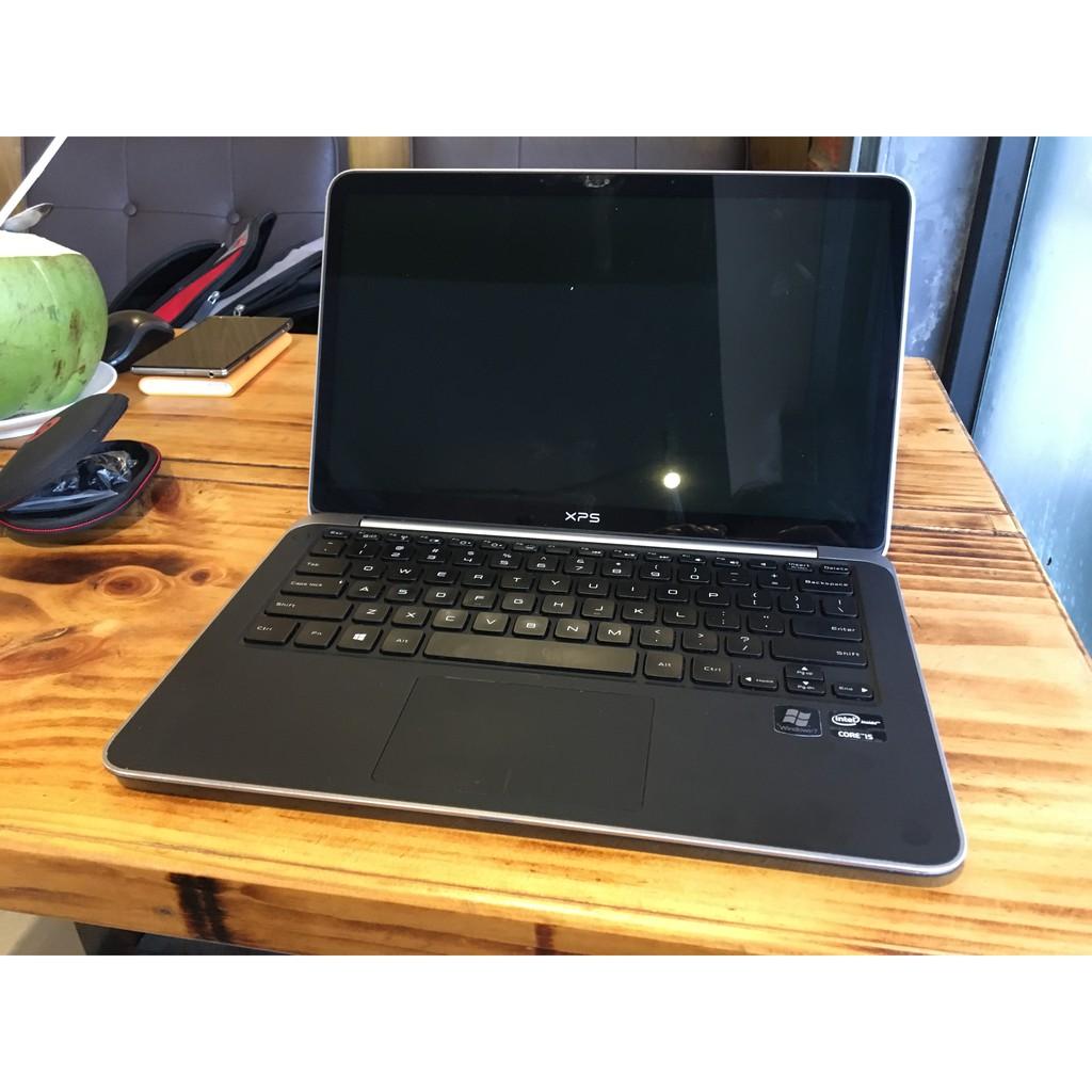 laptop cũ dell xps13 siêu mỏng nhẹ i5 3337U, 4GB, SSD 128GB, màn hình 13.3 inch HD