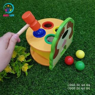 Đồ chơi gỗ – Đập bóng hình cún con