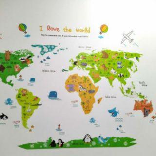 [ToyForKidz] – Bản đồ thế giới động vật