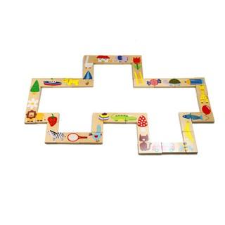 [HOT]Đồ chơi Domino gỗ an toàn 28 chi tiết cho bé – Toca Toys