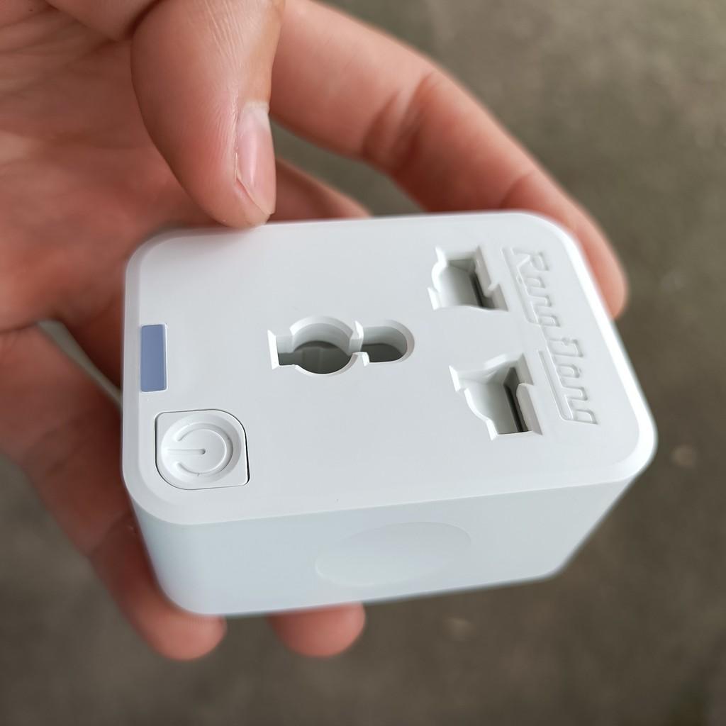 Ổ Cắm Điện ⭐FREE SHIP⭐ Ổ Cắm Điện Rạng Đông Điều Khiển Từu Xa Có Kết Nối  Wifi Trực Tiếp Qua App Trên Điện Thoại - Ổ cắm điện & Dây nối
