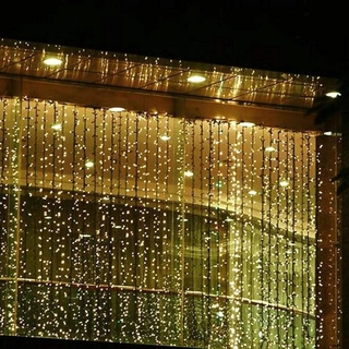 Rèm Đèn Led 300 Bóng 3m X 3m Trang Trí Buổi Tiệc