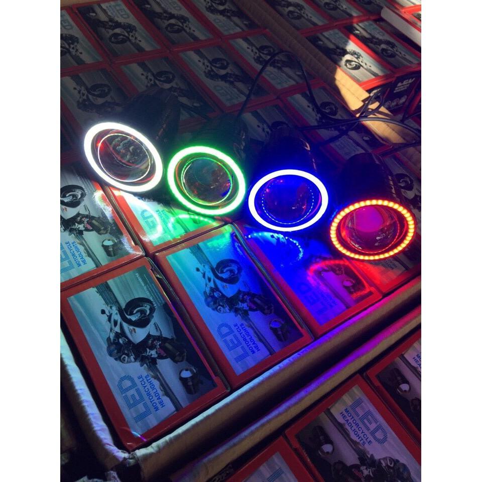 Bóng LED U7 một màu - không khung sắt gắn mắt cú