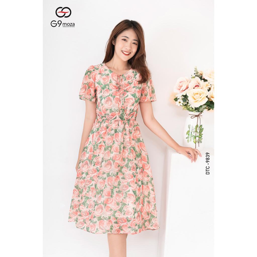 Mặc gì đẹp: Tung bay với Váy xòe, đầm tay cộc cách điệu xẻ tay G9moza, chất voan hàn mềm mại thoáng mát 9839