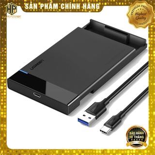 Hộp đựng ổ cứng SATA 2.5 inch USB-C to USB 3.0 Ugreen 50743 chính hãng - Hapustore thumbnail