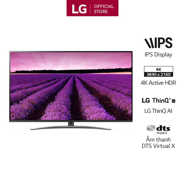 Smart Tivi LG 49 inch Nano Cell 4K UHD 49SM8100PTA - Hàng Chính Hãng