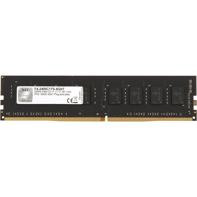 DDRam 4 Gskill 4GB/2400 F4-2400C17S-4GNT