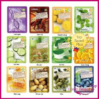 Mặt Nạ Giấy 3D Food a holic Natural Essence Mask thumbnail