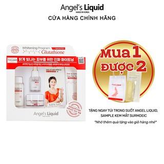 Bộ 4 sản phẩm Angel Liquid Whitening Program Glutathione Special Kit Dưỡng Trắng Da thumbnail