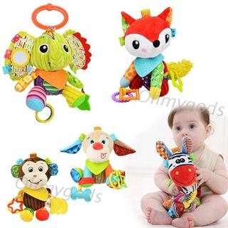 OMG* Cartoon Plush Stuffed Animal Baby Toys Bed Stroller Mobile Hanging Rattles Gift