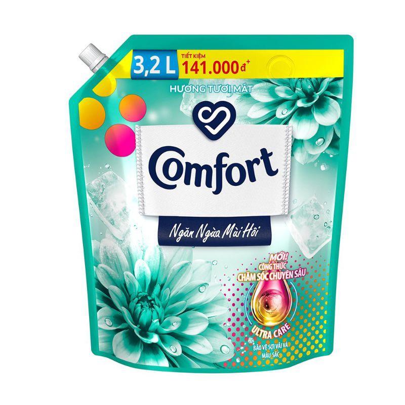 [Mã 267FMCGSALE giảm 8% đơn 500K] Nước xả làm mềm vải Comfort Chăm sóc Chuyên sâu Một lần xả túi 3.2L