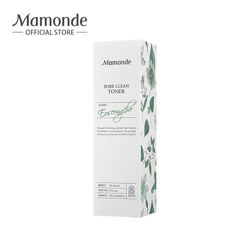 Nước cân bằng làm sạch dầu nhờn và ngăn ngừa mụn Mamonde Pore Clean Toner 250ml