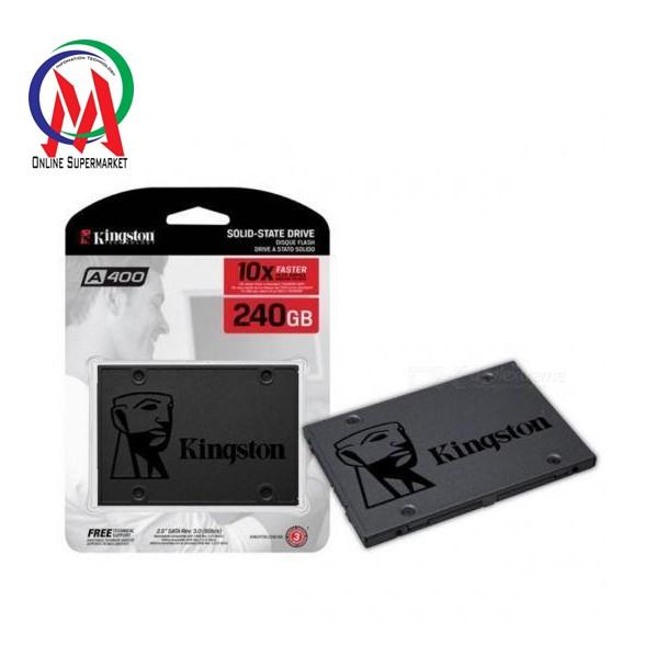 Ổ cứng SSD Kington SA400 240GB BH 36 THÁNG