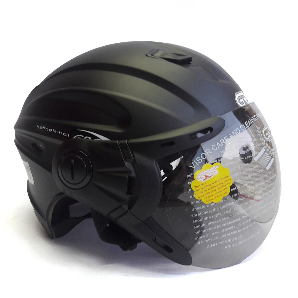 Mũ bảo hiểm nửa đầu GRS A737K nhiều màu