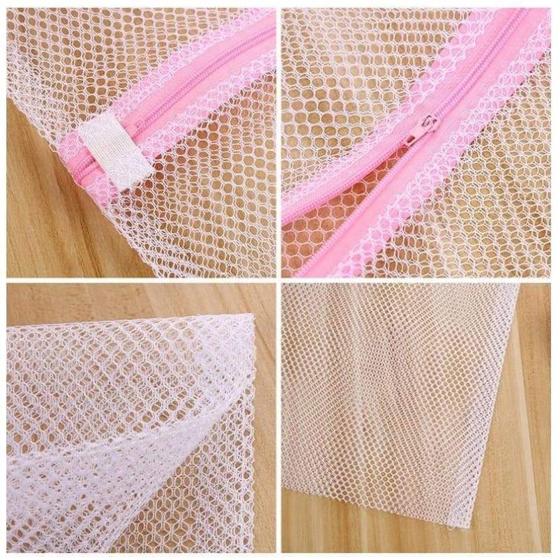 (1 cái)túi lưới giặt quần áo nhiều kích thước