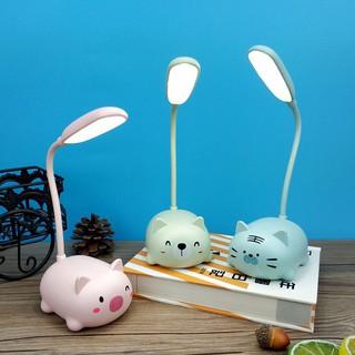 Đèn học để bàn hình mèo-đèn học mini-đèn bàn hình thú[NEW] (Retoanquoc)