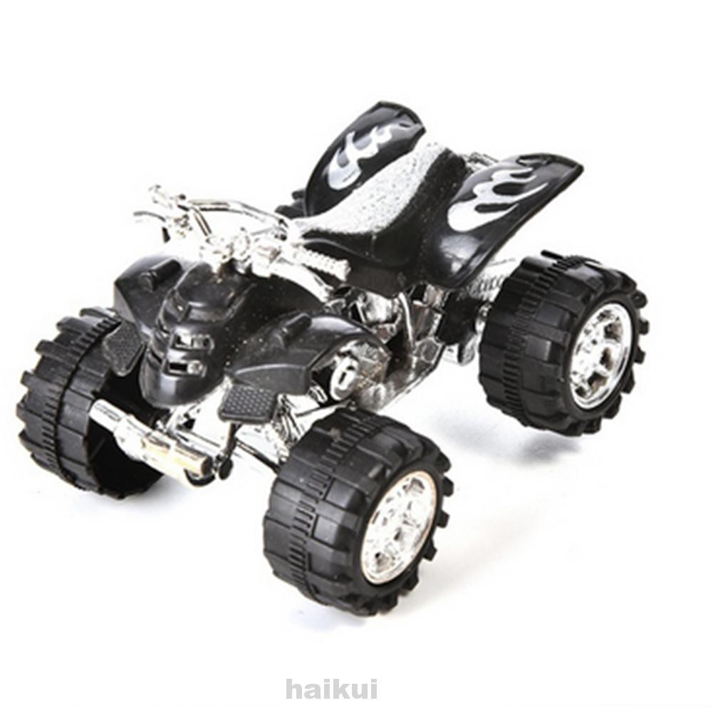 Educational Simulation Beach Mini Portable Off-Road Random Color Pull Back Motorcycle Toy