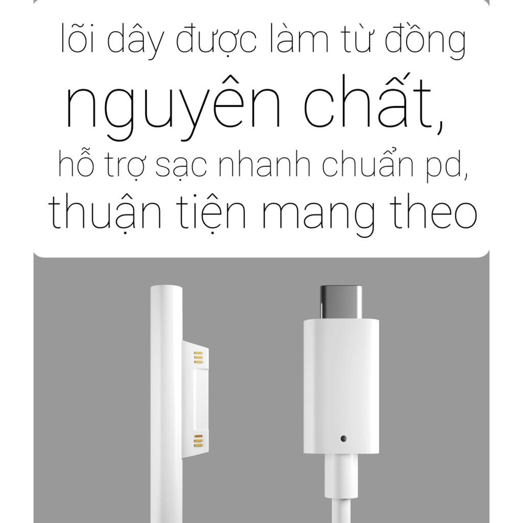 Cáp chuyển Surface Connect ra USB Type C