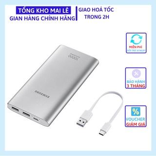 Pin Sạc Dự Phòng Samsung 10000mAh Fast Charge Cổng USB + Type C ( Bảo Hành 3 Tháng)
