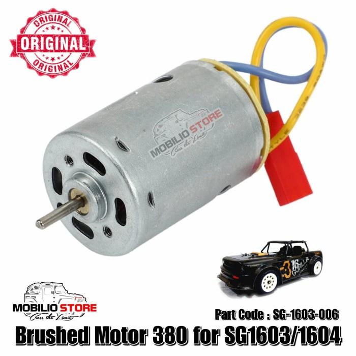 Động cơ chổi than 380 Sg1603 SG1604 cho xe điều khiển từ xa