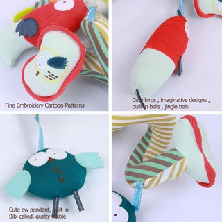 Baby Bed Winding Toys Animal Appease Doll Rattles Stroller Crib Hanging Toy