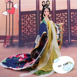 Traditional Chinese Classical Style doll Costume Chinese Ancient Mythological Clothes Girl's Favorite – Only Clothes