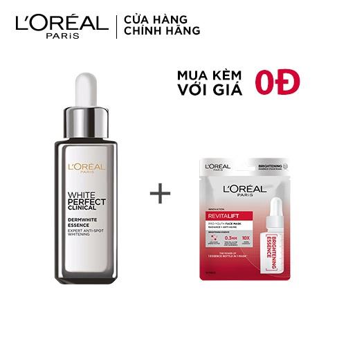 [COSMALL05 -8% ĐH250k]Tinh chất tăng cường dưỡng trắng da & giảm thâm nám L'oreal Paris White Perfect Clinical - 30ml