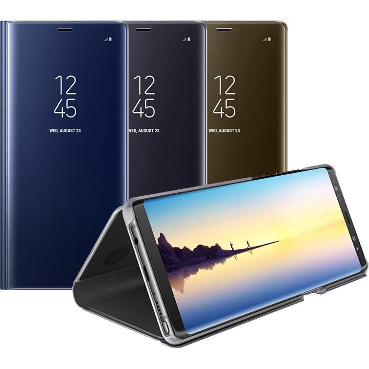 Bao da Clear View Standing Cover Samsung Galaxy Note 8 chính hãng