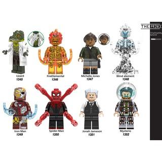 Bộ mô hình minifigures spiderman far from home X0268