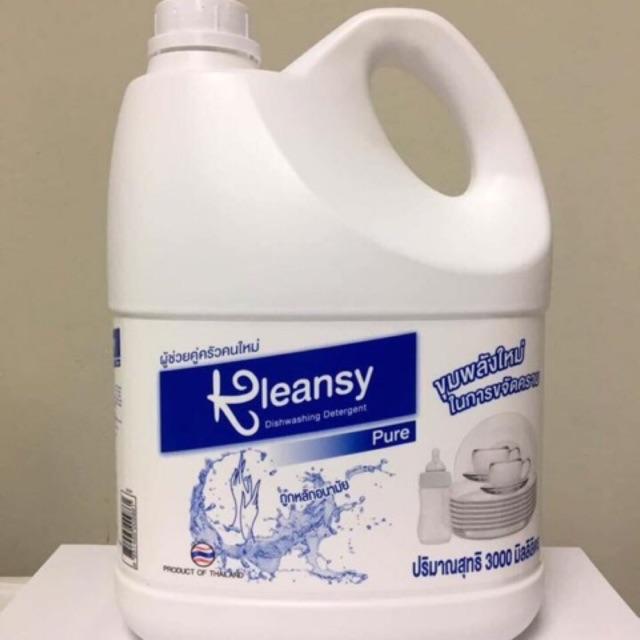 Nước Rửa Bát kleasy can 3000ml ( hàng công ty )