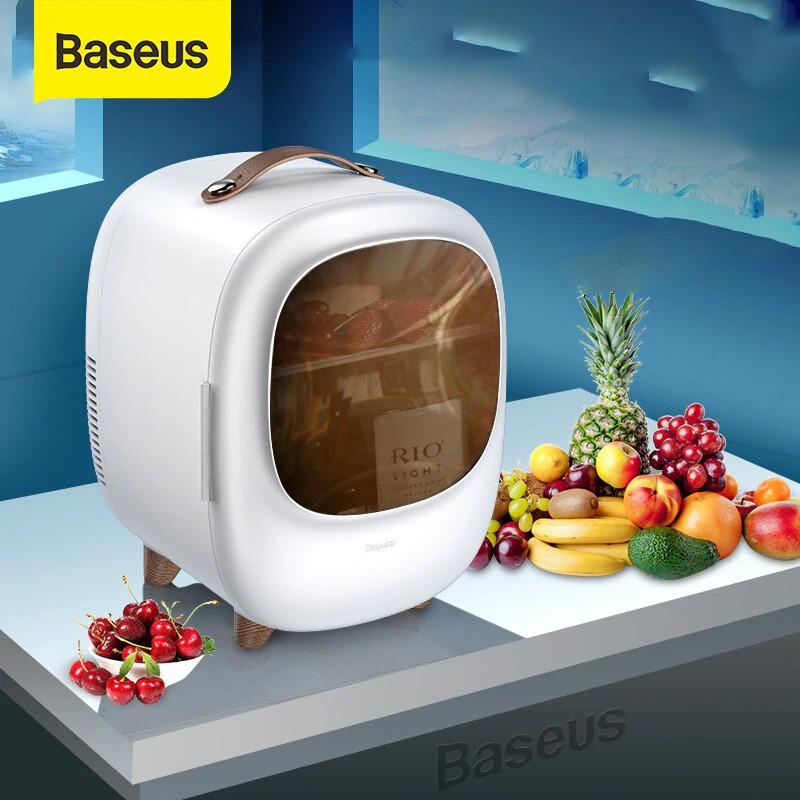 Tủ Lạnh Mini Dung Tích 8L, Hai Chế Độ Nóng / Lạnh, Sử Dụng Cho Văn Phòng, Gia Đình, Dễ Dàng Mang Đi Du Lịch, Picnic