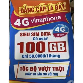 [SIM MẠNG SIÊU RẺ] Sim lên mạng 100Gb Vinaphone, Sim thaga siêu hấp dẫn