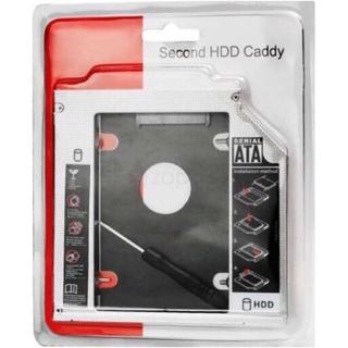 Caddy Bay HDD SSD SATA 3 9.5mm – Khay ổ cứng thay thế ổ DVD, cadibay