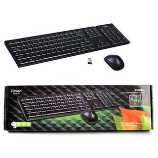 Bàn phím chuột không dây Fuhlen A120G – Bộ bàn phim cực bền