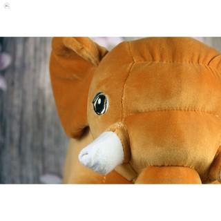 [MỚI]Gấu bông Oenpe Voi màu cam ngộ nghĩnh, chất liệu bông cao cấp