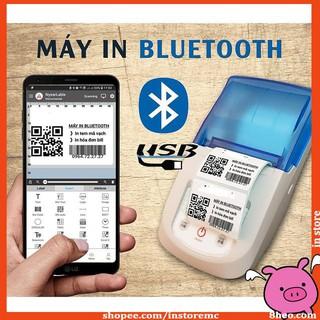 ivn047 Máy In Tem & Hóa Đơn Bluetooth NyearLabel