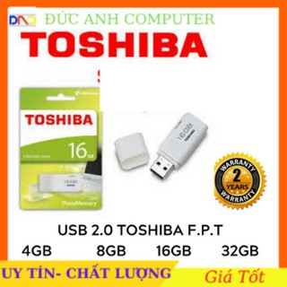 Usb 4G/ 8G/ 16G/ 32G TOSHIBA Chính Hãng F.P.T Phân Phối- Bảo Hành 2 Năm