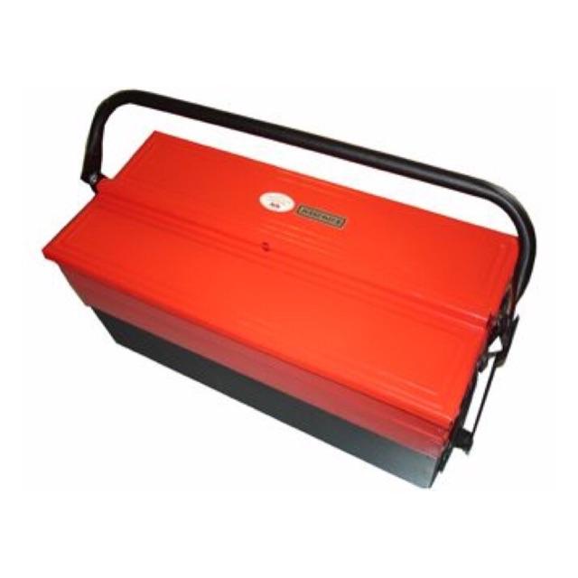 Hộp đựng dụng cụ đa năng sắt đỏ đen nhỡ(450x210x160mm)