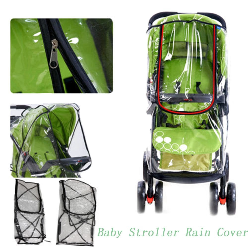 Màn chắn gió cho xe đẩy em bé