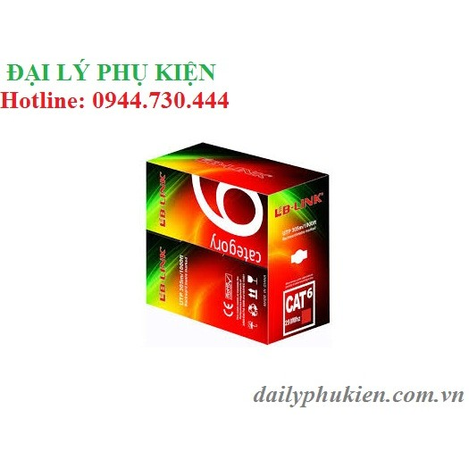 Bảng giá Phụ kiện SIÊU RẺ_ Thùng mạng cat6 LB Link 305m màu trắng Phong Vũ