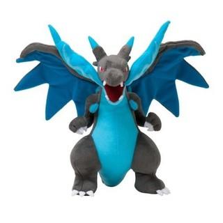 Thú nhồi bông Pokemon Mega Charizard X chất lượng cao 23cm thumbnail