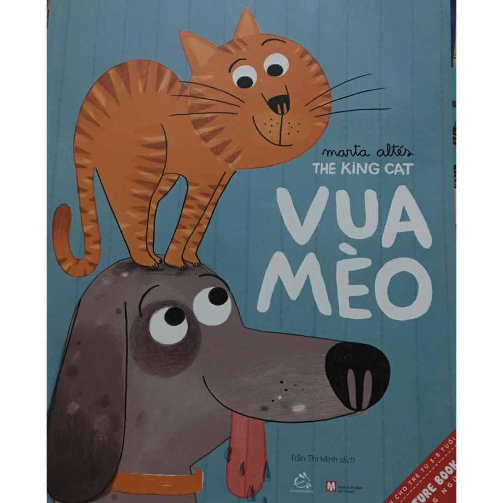 Mua Sách-Picture Book - Vua Mèo