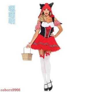trang phục hoá trang phù thủy đỏ cho lễ hội