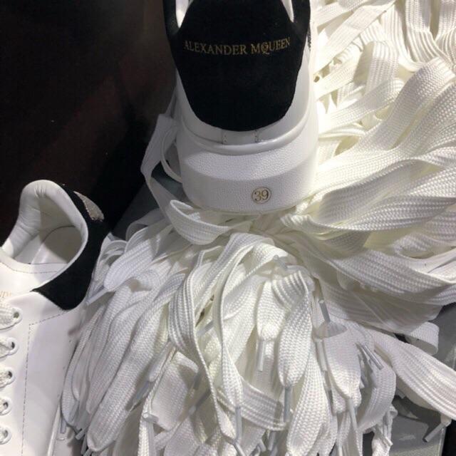 Dây Giày Thể Thao .dây giày Mc Queen trắng
