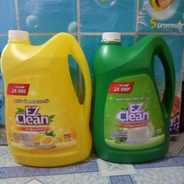 Nước rửa chén EZ can 4 lít ( 4 mùi: chanh, bưỏi, muối biển, trà xanh) - 2817938 , 668955814 , 322_668955814 , 80000 , Nuoc-rua-chen-EZ-can-4-lit-4-mui-chanh-buoi-muoi-bien-tra-xanh-322_668955814 , shopee.vn , Nước rửa chén EZ can 4 lít ( 4 mùi: chanh, bưỏi, muối biển, trà xanh)