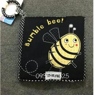 Sách Vải Bumble Bee – Kích Thích Thị Giác