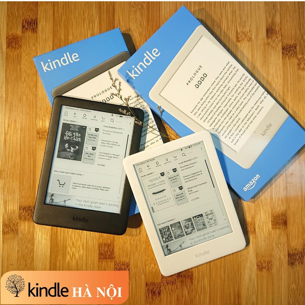 Máy đọc sách Kindle Basic 2019 - All-new-kindle 2019 có đèn nền, màn hình 6'' chống khúc xạ ánh sáng, nghe Audible, 4GB