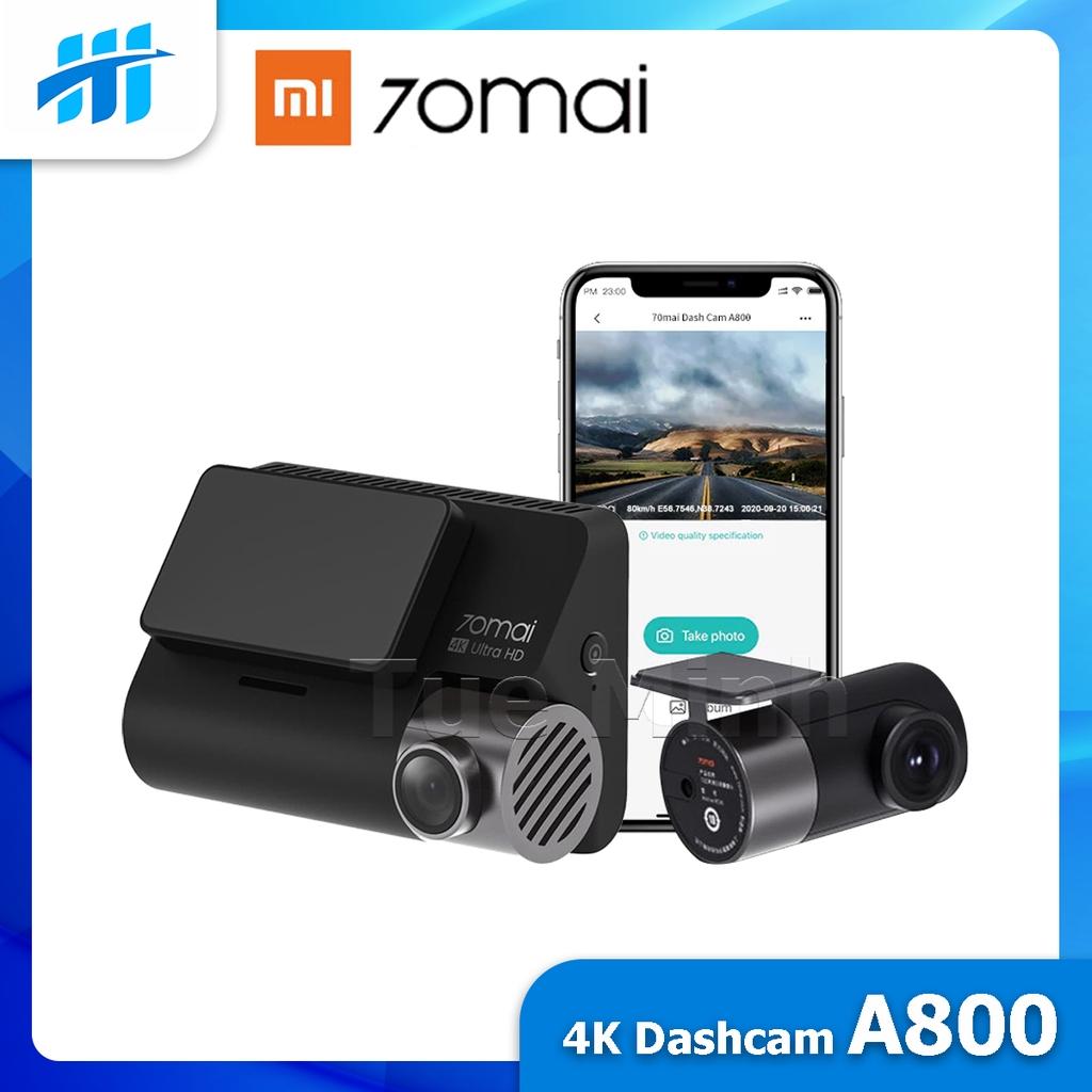 Camera hành trình 70mai Dash Cam A800s 4K - Phiên bản Quốc tế