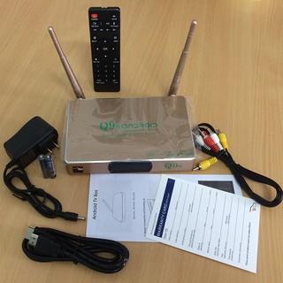 Đầu TV box Q9s Chíp 3128 Ram 1Gb bộ nhớ trong 8G – giá tốt cho mọi nhà